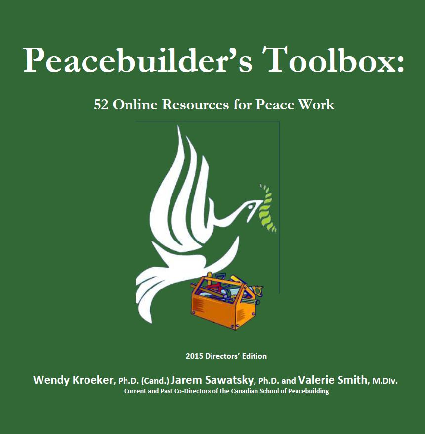 Peacebuilders' Toolbox: 52 Online Resources For Peace Work